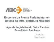 Agenda Legislativa do Setor Elétrico - ABCE