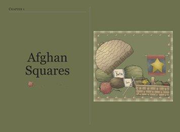 Afghan Squares - Priscilla's Crochet