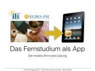 Mobile Learning - wbv-Fachtagung