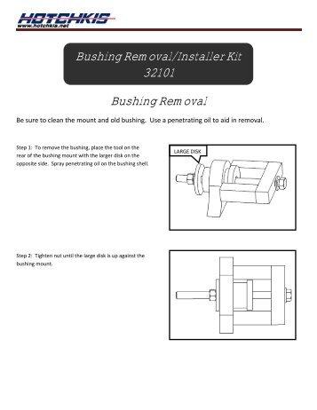 Lower Control Arm Rubber Bushing Removal Procedure Bdubnet