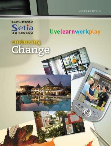 Change - S P Setia Berhad