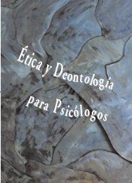 Libro Ética y Deontología - Consejo General de Colegios Oficiales ...