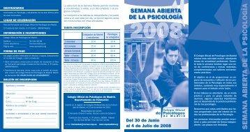 VI JORNADAS-2.indd - Consejo General de Colegios Oficiales de ...