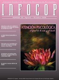 NUMERO 39. Agosto - Octubre 2008 - Consejo General de Colegios ...