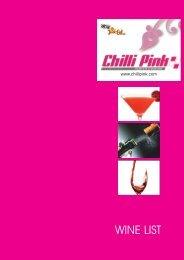 Drinks - Chillipink.com