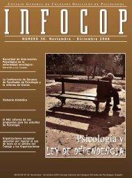 NUMERO 30. Noviembre - Diciembre 2006 - Consejo General de ...