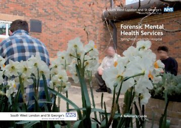 Forensic Mental Health Services - South West London and St ...