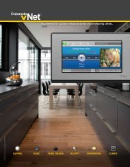 Engineered for custom integrators with ... - ColoradoVNet