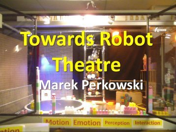 Our Robot Theatre - Electrical & Computer Engineering