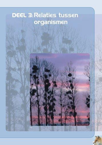 DEEL 3:Relaties tussen organismen - Plantyn