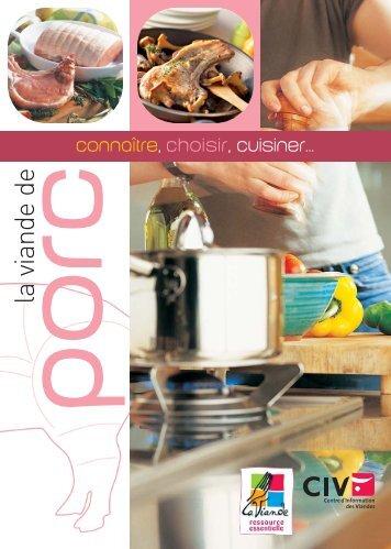 pdf | connaitre-choisir-cuisiner le porc - La-viande.fr