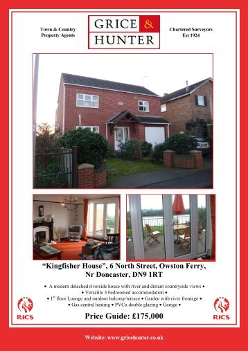 6 North St, Owston Ferry - Grice & Hunter