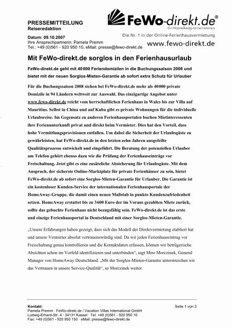 Pdf Version Fewo Direkt