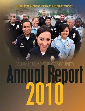As a Law Enforcement Officer - Garden Grove