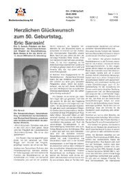 zum 50 Geburtstag - Swiss Finance Institute