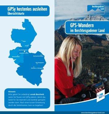 GPS-Wandern - Berchtesgadener Land