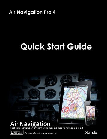Air Navigation Pro 4 - Quick Start guide - Xample