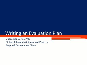 Writing an Evaluation Plan 2012.pdf - Office of Research and ...
