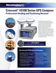 Crescent® VS100 Series GPS Compass - Canal Geomatics