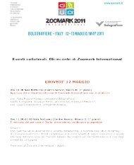 domenica 15 maggio - Zoomark