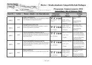 Hector – Kinderakademie Längenfeldschule Balingen ... - in Balingen