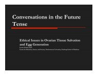 Conversations in the Future Tense - Northwestern University