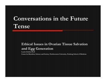 Conversations in the Future Tense - Northwestern University
