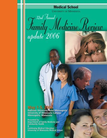 Family Medicine Cover 06 - University of Minnesota Continuing ...
