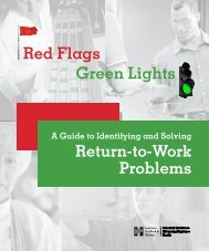 A Guide to Identifying and Solving Return-to-Work Problems