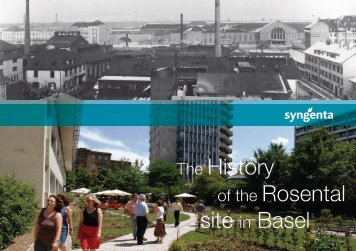 The History of the Rosental site in Basel
