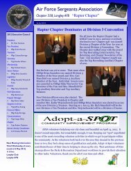 AFSA Chapter 358 Newsletter 27 Apr 2012 - Air Force Sergeant's ...