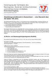 Staatsbürgerschaftsrecht in Deutschland — eine Übersicht über die ...