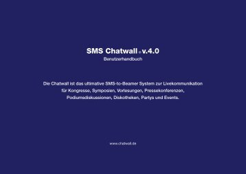 SMS Chatwall® v.4.0