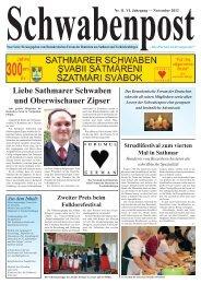 Liebe Sathmarer Schwaben und Oberwischauer Zipser Zweiter ...