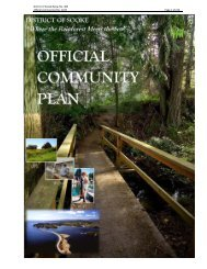 Official Community Plan - District of Sooke