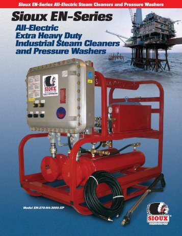 the EN Series Brochure - Sioux Steam Cleaner Corporation