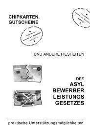 Das Chipkartensystem in Berlin und bundesweit bekämpfen!