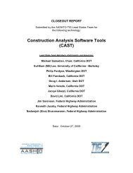 Closeout Report Template - AASHTO Technology Implementation ...