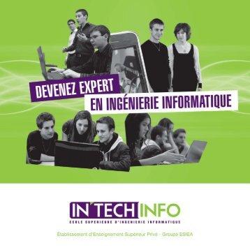 Plaquette IN'TECH Info - L'Etudiant