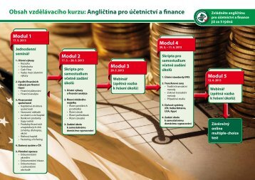 Obsah vzdělávacího kurzu: Angličtina pro účetnictví a finance ...