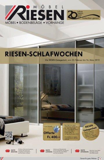 RIESEN_Schlafen_1_Sem_2013 - Möbel Riesen