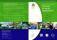 Planned External Maintenance - South Derbyshire District Council