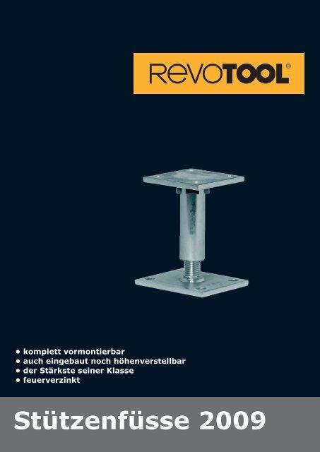 Stützenfüsse 2009 - Revotool