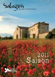 Télécharger le programme 2011 de Salagon - Conseil Général des ...