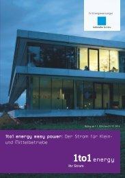 easy power - Technische Betriebe Glarus Nord