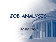 3. job analysis