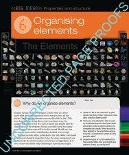 2 Chapter 6 • organising elements Organising elements