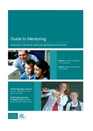 Mentoring: A professional responsibility and a pathway for our own ...