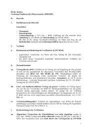 1 PD Dr. Richter Vorlesung Familienrecht ... - Dr. Klaus Richter
