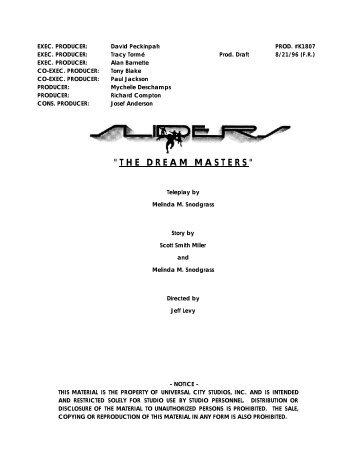 Production Draft - Zen 134237